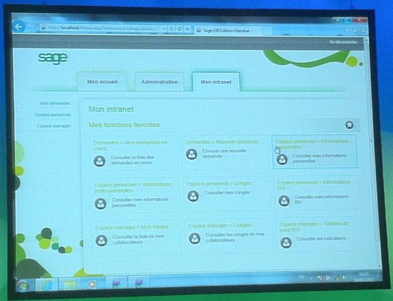 Intranet RH Acceuil